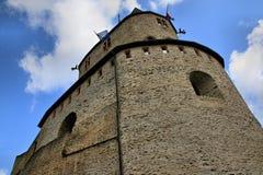 Castillo de Vianden, Luxemburgo Imagenes de archivo
