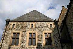 Castillo de Vianden, Luxemburgo Imagen de archivo