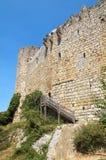 Castillo de Villerouge-Termenes 2 imagen de archivo libre de regalías