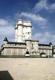 Castillo de Vincennes cerca de París Fotografía de archivo