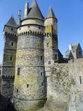 Castillo de Vitre, Francia Imagenes de archivo
