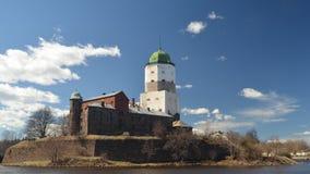 Castillo de Vyborg Fotos de archivo