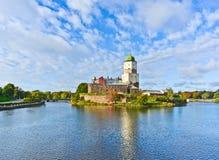 Castillo de Vyborg Fotografía de archivo libre de regalías