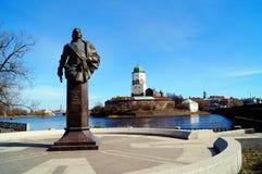 Castillo de Vyborg del museo del estado Fotos de archivo