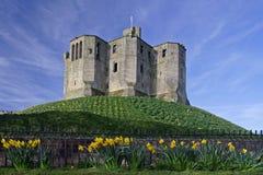 Castillo de Warkworth foto de archivo libre de regalías