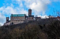 Castillo de Wartburg Fotos de archivo libres de regalías