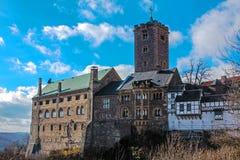 Castillo de Wartburg Foto de archivo libre de regalías