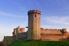 Castillo de Warwick Imagen de archivo libre de regalías