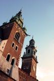Castillo de Wawel Imagen de archivo