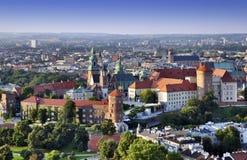 Castillo de Wawel Fotografía de archivo libre de regalías