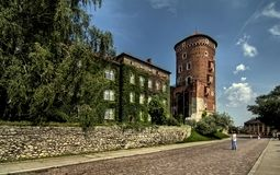 Castillo de Wawel Foto de archivo libre de regalías