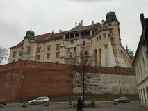 Castillo de Wawel, Cracovia, Polonia Fotos de archivo