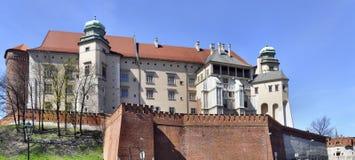 Castillo de Wawel en Kraków Imagen de archivo libre de regalías