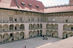 Castillo de Wawel, Kraków fotografía de archivo libre de regalías