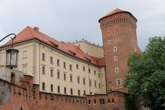 Castillo de Wawel, Kraków imágenes de archivo libres de regalías