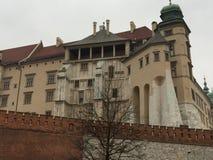 Castillo de Wawel, Polonia, Cracovia Foto de archivo
