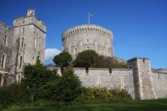 Castillo de Windsor en Inglaterra Foto de archivo