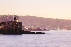Castillo de Wullf, Vina del Mar Fotografía de archivo libre de regalías