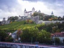 Castillo de Wurzburg imagen de archivo
