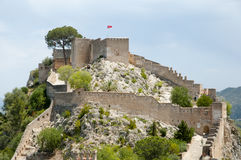 Castillo de Xativa - España Fotografía de archivo libre de regalías