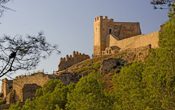 Castillo de Xivert Royalty Free Stock Photography