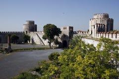 Castillo de Yedikule Imagen de archivo libre de regalías