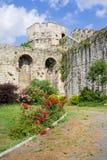 Castillo de Yedikule en Estambul Foto de archivo