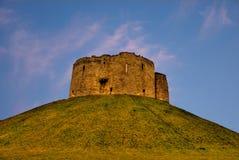 Castillo de York Imagen de archivo libre de regalías