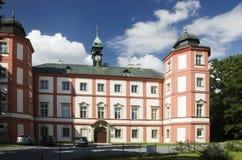 Castillo de Zamrsk Fotografía de archivo libre de regalías