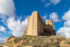 Castillo de Zorita, Guadalajara, Spain Stock Images