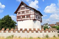 Castillo de Zug, Suiza Foto de archivo