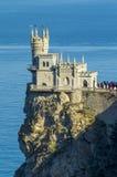 Castillo decorativo de la jerarquía del trago en Crimea Fotografía de archivo libre de regalías