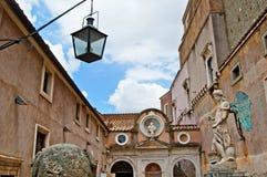 Castillo del ángel santo Imágenes de archivo libres de regalías