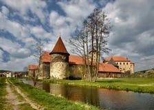 Castillo del agua Imágenes de archivo libres de regalías