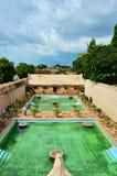 Castillo del agua de la sari de Taman Foto de archivo libre de regalías