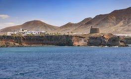 Castillo Del Aguila w Lanzarote Obrazy Royalty Free