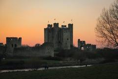 Castillo del ajuste condado Meath irlanda Foto de archivo
