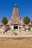 Castillo del arte del Khmer en Tailandia Imagen de archivo libre de regalías