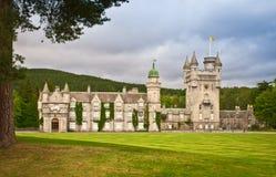 Castillo del Balmoral Imágenes de archivo libres de regalías