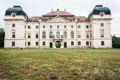 Castillo del Barroco de Riegersburg Foto de archivo libre de regalías