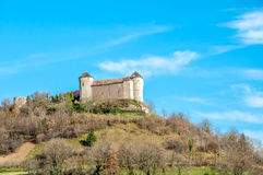Castillo del belvoir en Francia Imagen de archivo