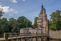 Castillo del bij Duurstede de Wijk Fotografía de archivo
