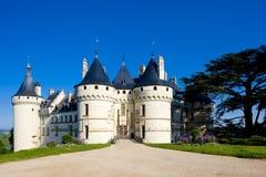 Castillo del Chaumont-sur-Loire fotos de archivo