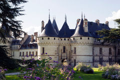 Castillo del Chaumont-sur-Loire Imágenes de archivo libres de regalías
