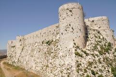 Castillo del cruzado en Siria Imagenes de archivo