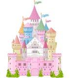 Castillo del cuento de hadas Imágenes de archivo libres de regalías