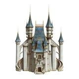 Castillo del cuento de hadas Imagenes de archivo