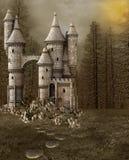 Castillo del cuento de hadas Imagen de archivo