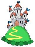 Castillo del cuento de hadas Fotografía de archivo libre de regalías
