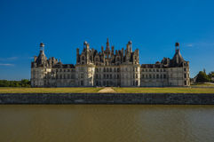 Castillo del cuento de hadas - Chateau De Chambord fotografía de archivo